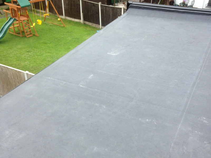 Flat Roof Extension, Cheshire