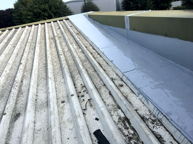 After Industrial Roof Repairs, Crossley Construction