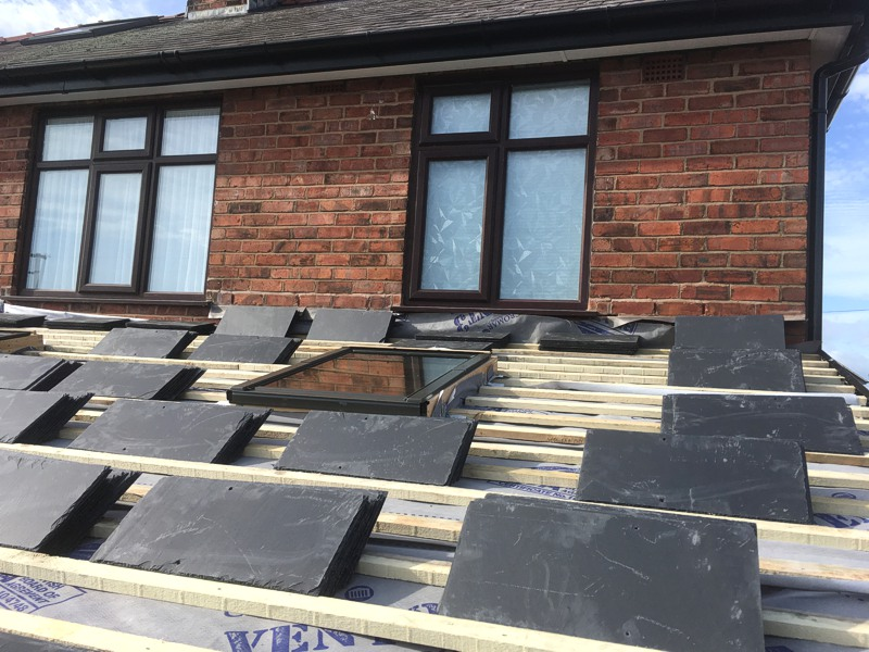 Pitched Rooflight, Daniel Crossley Roofing